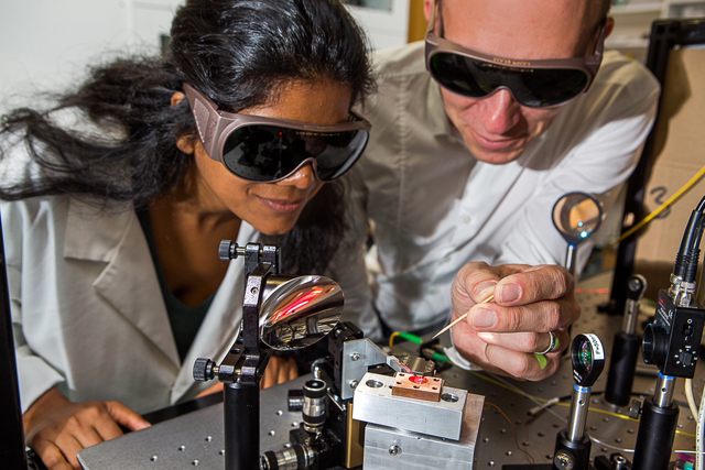 1physics Dr Harald Schwefel and Dr Madhuri Kumari
