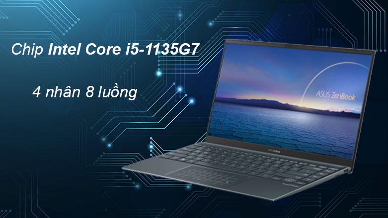 Laptop Asus UX425EA-KI429T | Hiệu năng mạnh mẽ