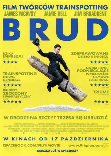 Przód ulotki filmu 'Brud'