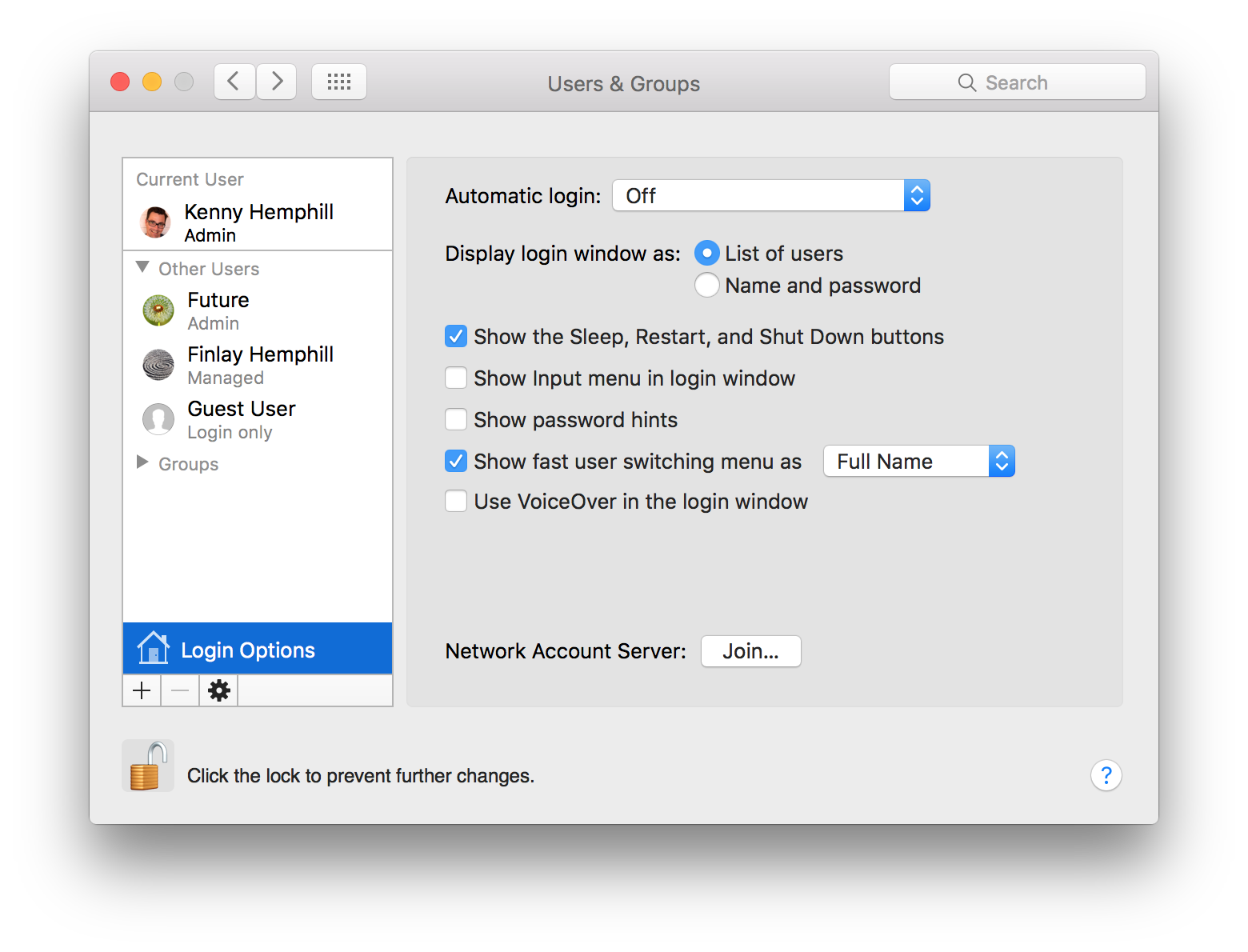How to set up and manage user accounts on a Mac - Macworld UK