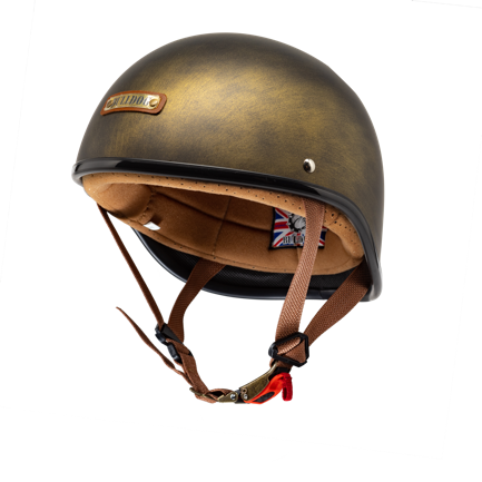 A person wearing a helmet  Description automatically generated with low confidence