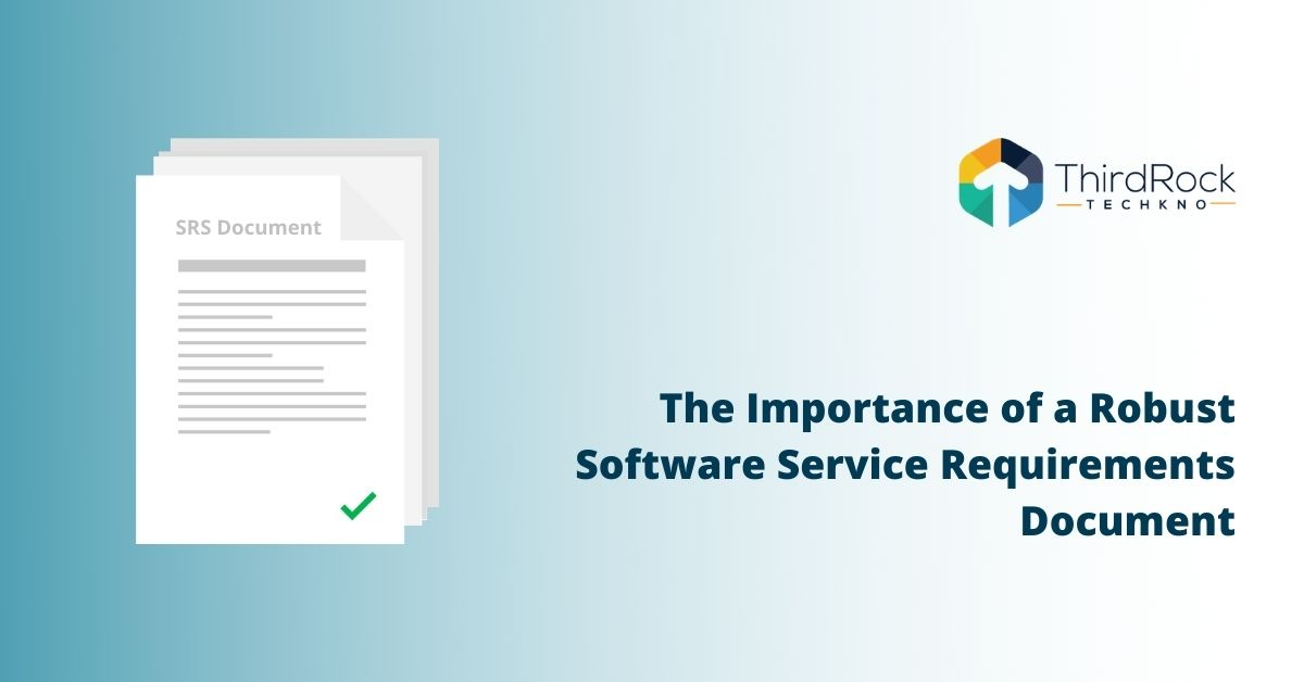 Software Service Requirements Document