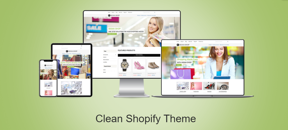 Flawless clean shopify theme