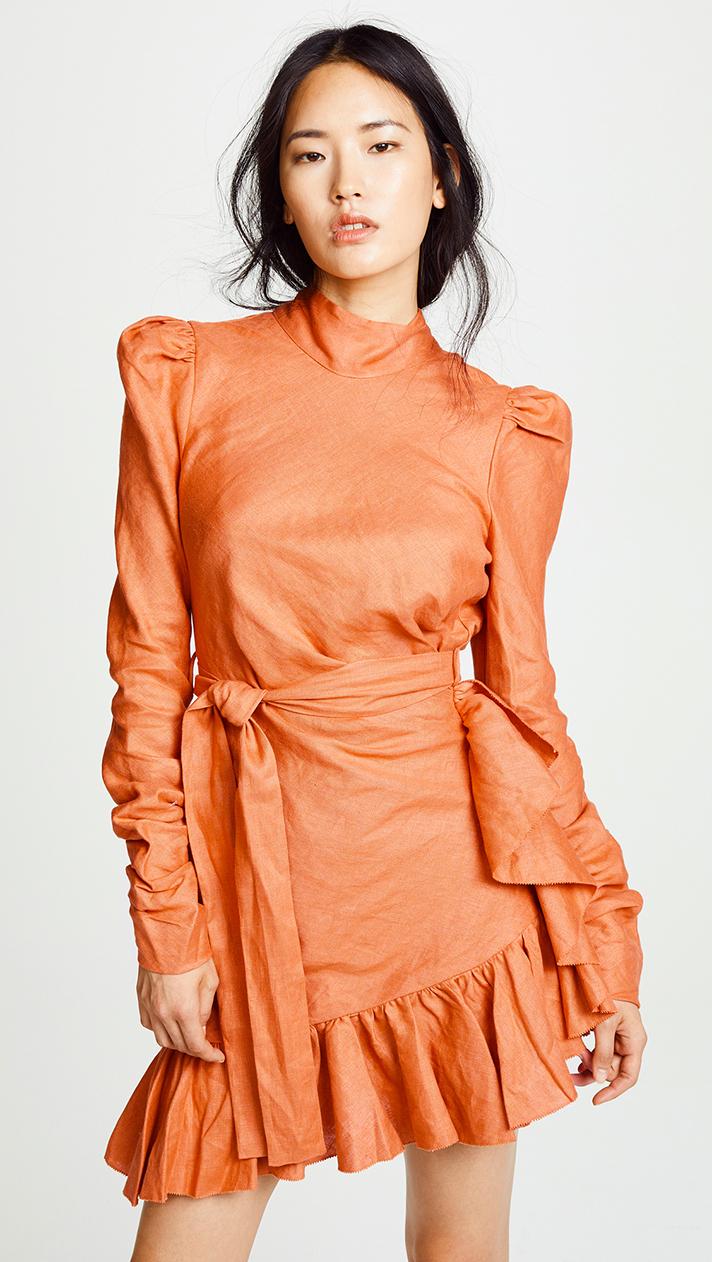 Pantone color of the year 2019 - mini hemline
