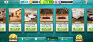 myVEGAS rewards rooms