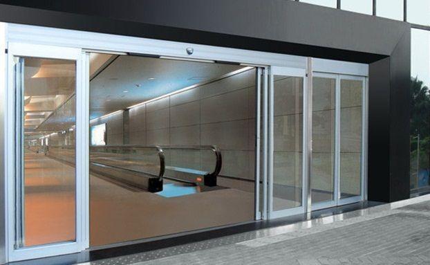 Cửa kính tự động khu vực chung cư