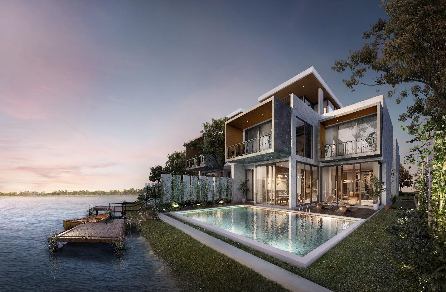 Biệt thự đảo Ecopark Grand – The Island sống thượng lưu tiêu chuẩn mới