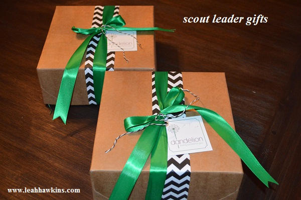scout leader christmas gifts