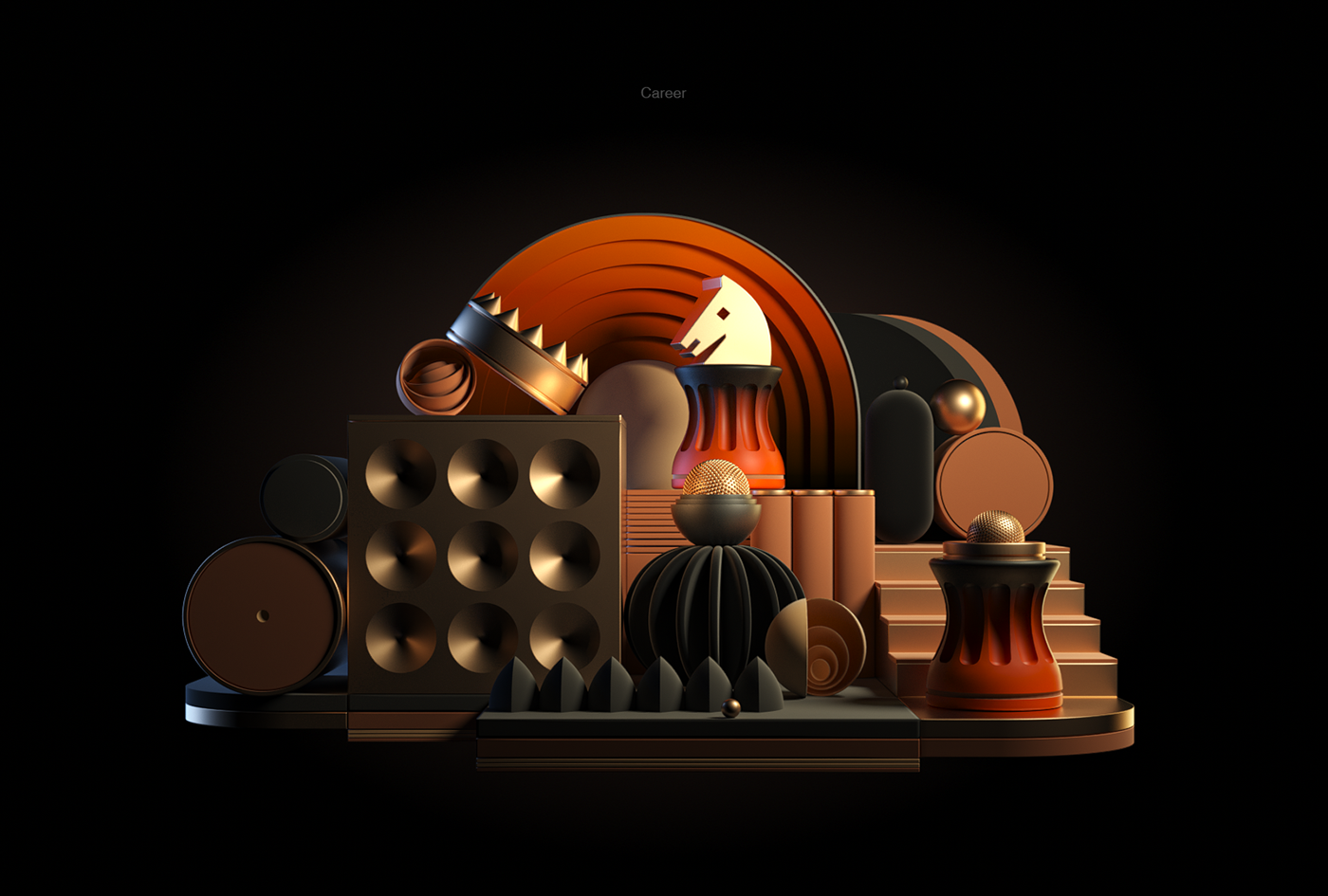 3D CGI sartakov design BreX constructor octane cinema4d