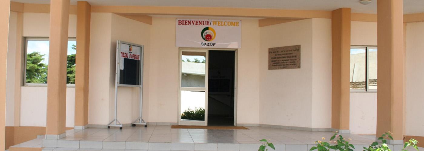 SAZOF, bureau du Groupement des zones franches au Togo
