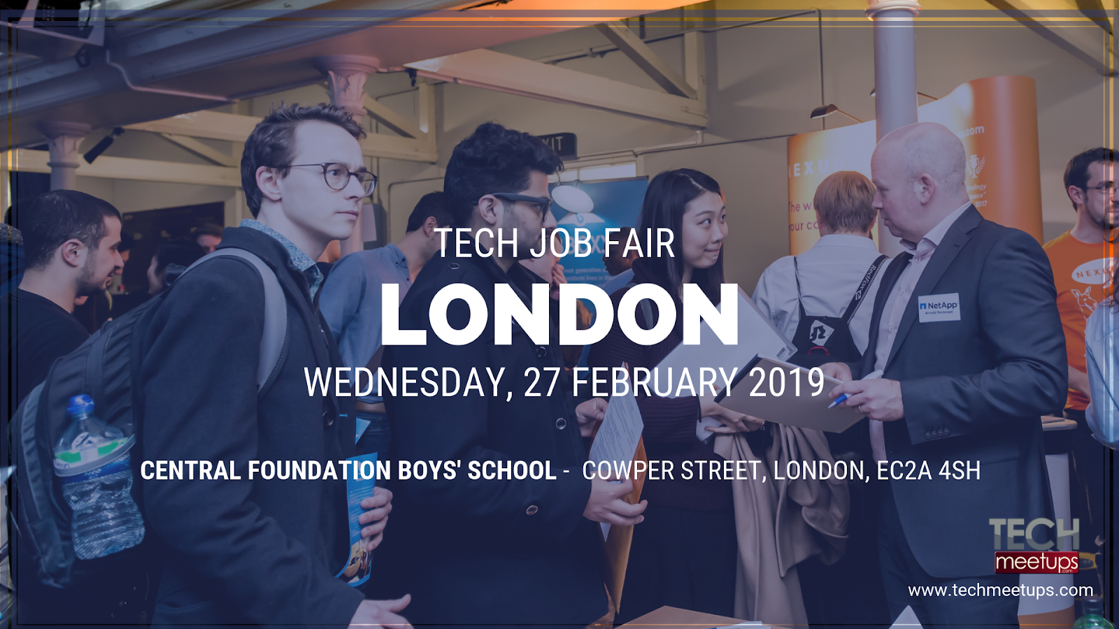 london tech job fair