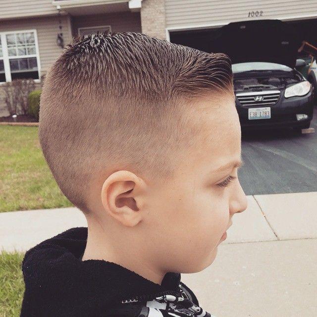 spiky quiff haircut for boys
