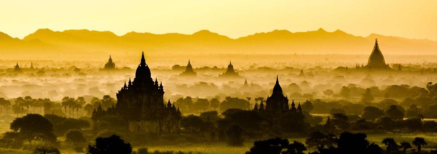 Bagan: xứ sở của những ngôi đền