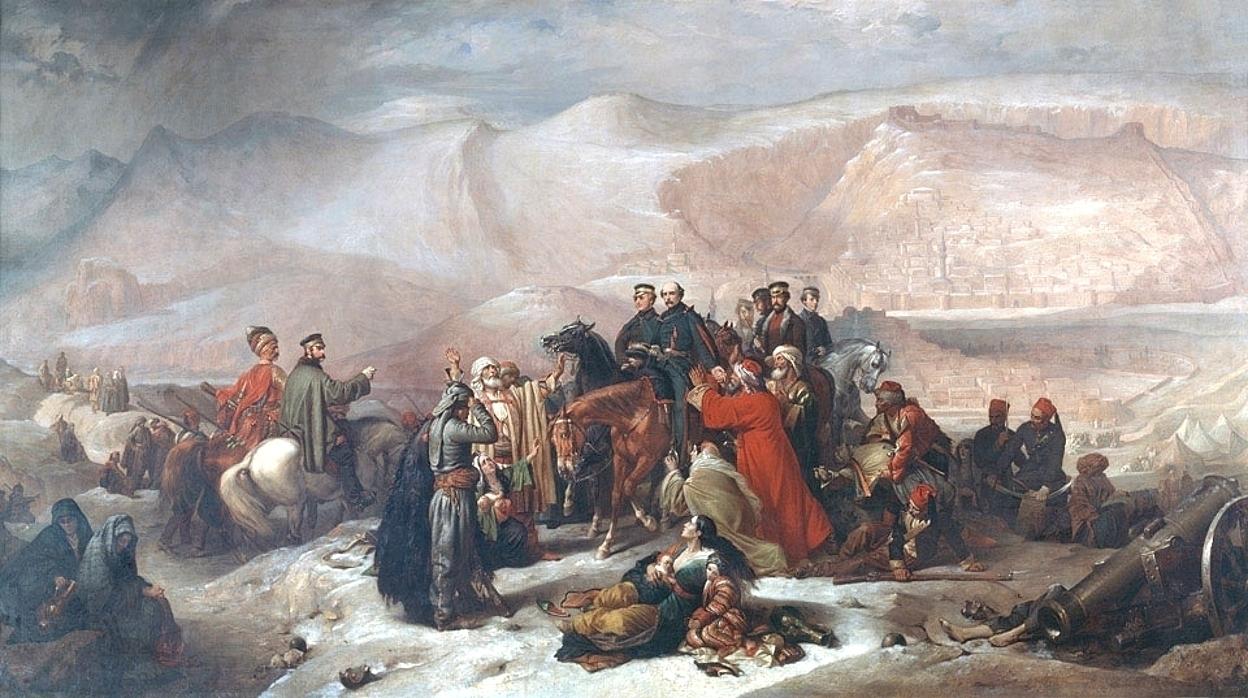 Thomas Jones Barker The Capitulation of Kars 1855.jpg