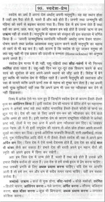 Essay on country love in hindi how to write essay in icse exam