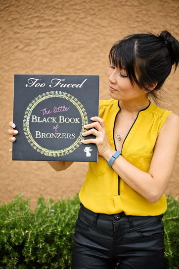 Happy 4th Blogiversary + Too Faced Giveaway of The Little Black Book of Bronzers.