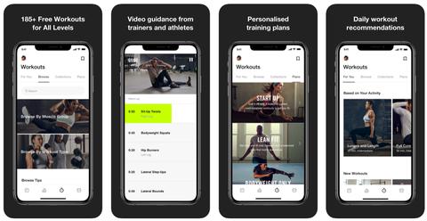 Træning apps til træning derhjemme: Nike+