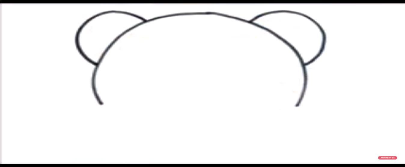 como dibujar un oso panda kawaii paso a paso