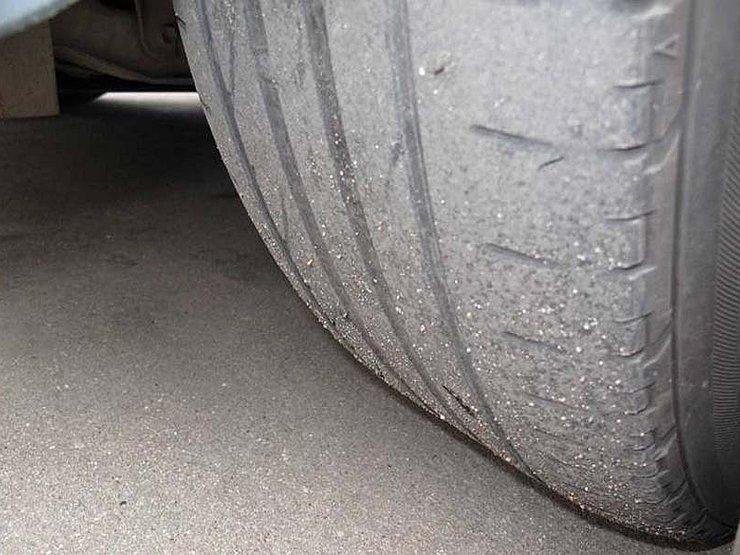 За стёршуюся резину на шинах украинских водителей могут оштрафовать