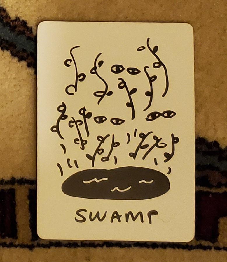 Swamp Tarot Card