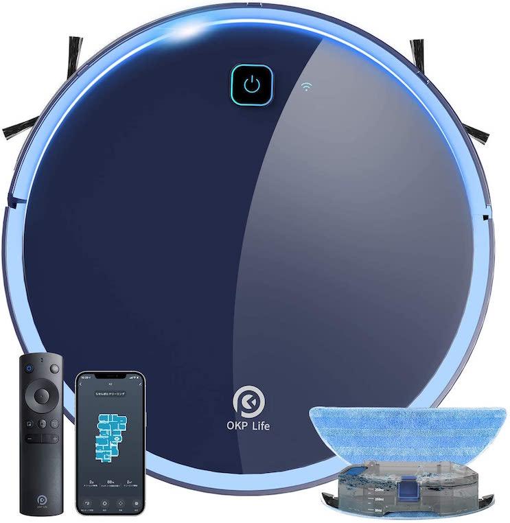掃除・水拭き両用ロボット掃除機