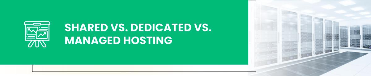 shared dedicated managed hosting