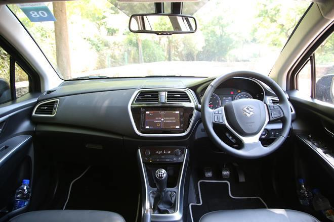 Image result for Interior features of Maruti Suzuki S cross