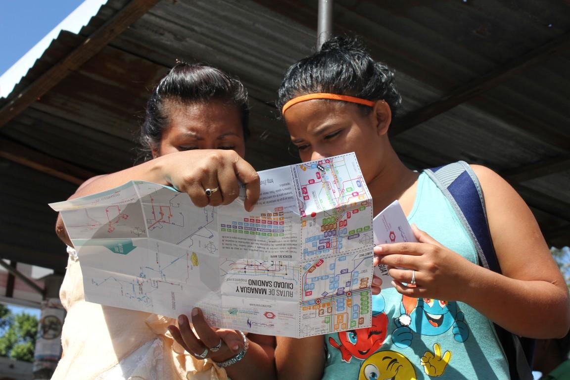 La découverte du plan (Managua)