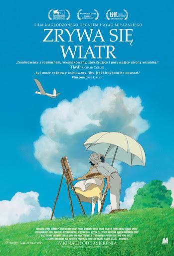 Polski plakat filmu 'Zrywa Się Wiatr'
