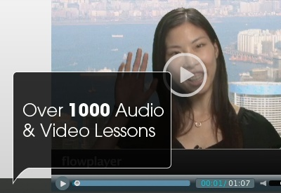 Learn Cantonese and Mandarin Chinese