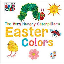 A colorful take on the classic book, The Very Hungry Caterpillar