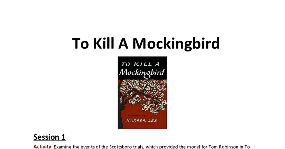 "the negative effects of tom robinsons trial in to kill a mockingbird Actors gregory peck as atticus finch and brock peters as tom robinson in the film 'to kill a when to kill a mockingbird was ""the trial, and the."