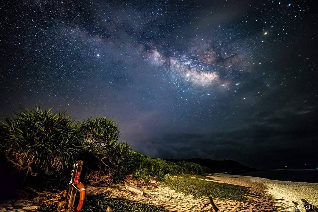 綠島最美夜景 大白沙潛水區
