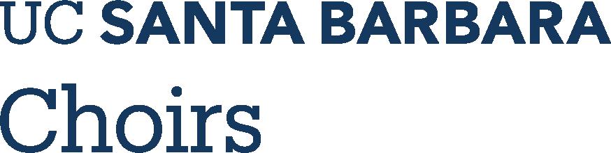 UC Santa Barbara Choirs logo