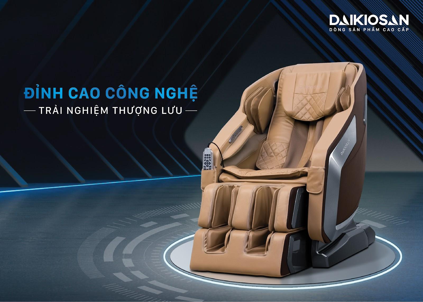 ghế massage DKGM 20001 đỉnh cao công nghệ