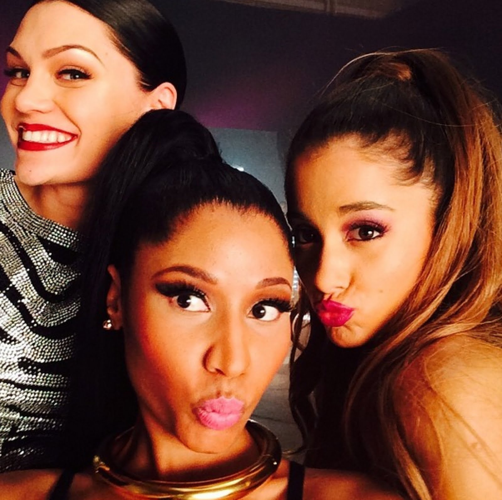 nicki minaj ariana grande jessie james beats by dre