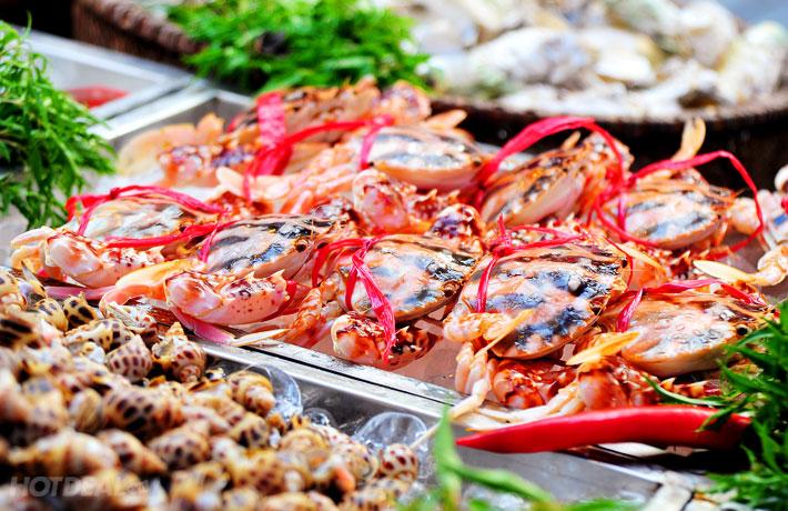 Nên tránh xa các loại hải sản để sẹo thủy đậu mau lành