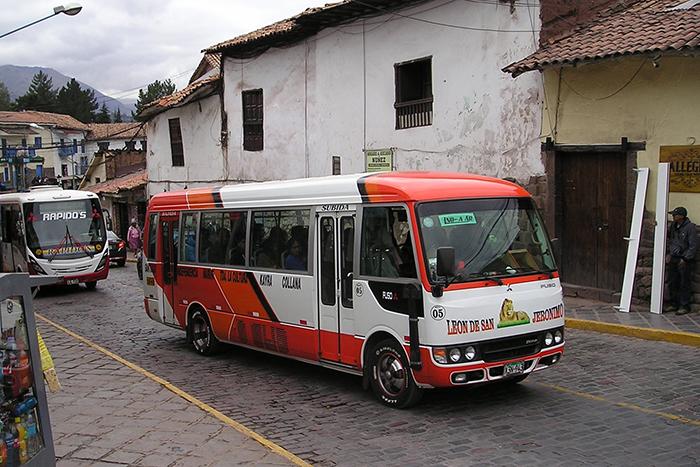 El Terminal Terrestre de Cusco se encuentra en una zona bastante urbanizada