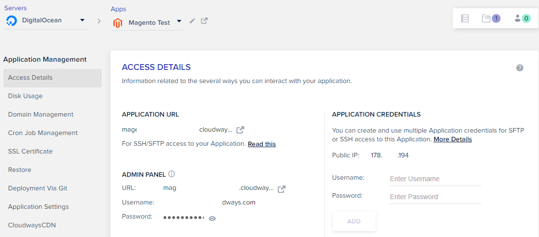 User guide] How to install OneStepCheckout on Cloudways