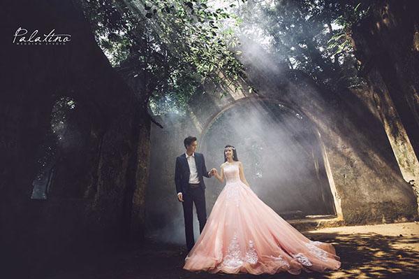 chụp ảnh cưới ba vì ở palatino studio
