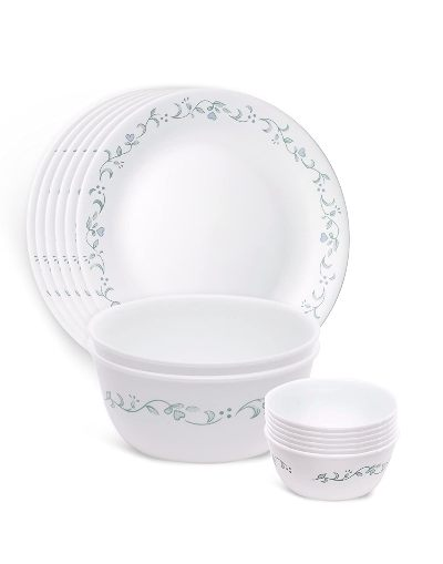 Corelle Country Cottage Glass Best Dinner Sets In India