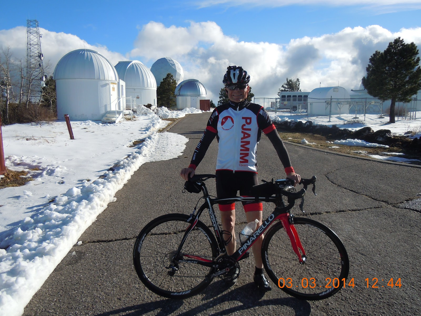 Mt Lemmon Observatories - road bike climb to the top