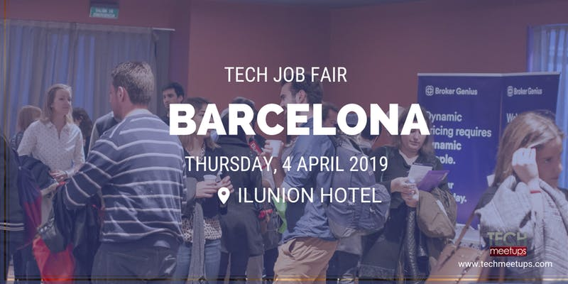 join barcelona tech job fair