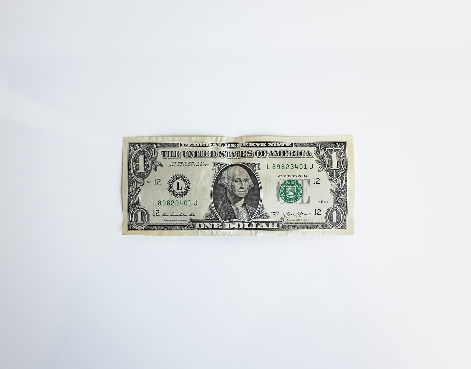 US Dollar Bill.