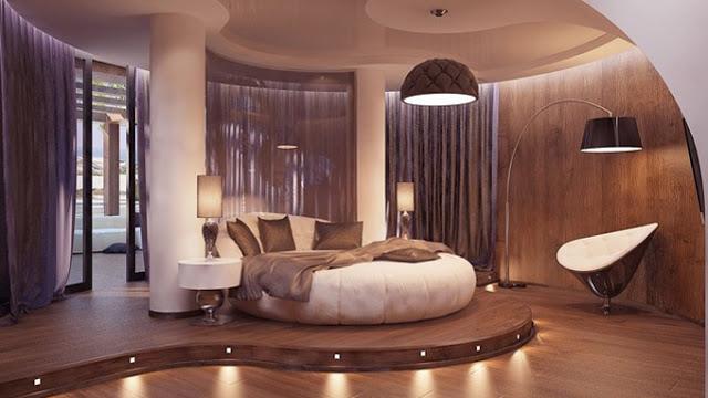 Không nên mua nhà có phòng hình tròn.