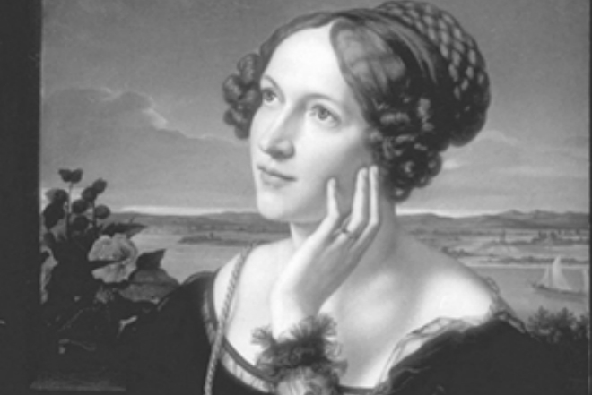 Portrait of Ada Lovelace by Alfred Challon
