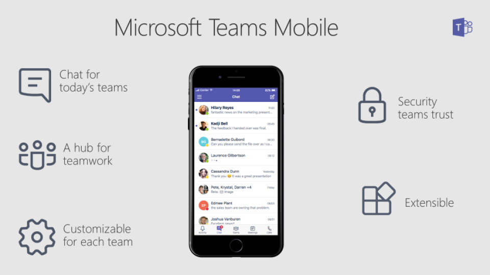 Home Office Microsoft Teams