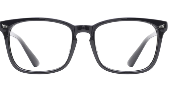 A pair of black glasses  Description automatically generated with medium confidence