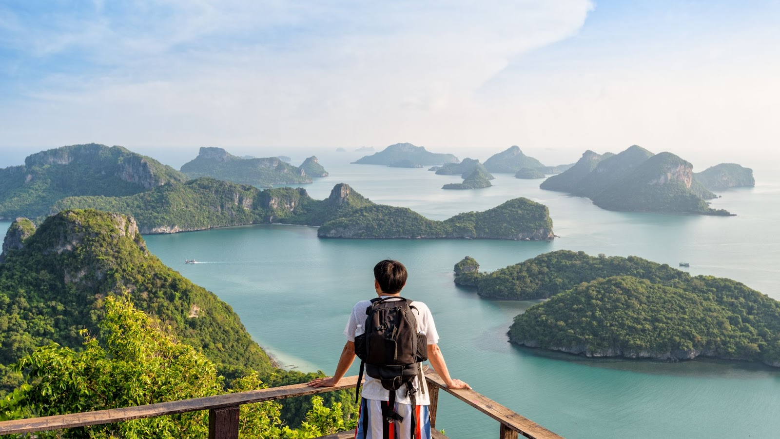 Unplugging from technology in Thailand while enjoying the scenery