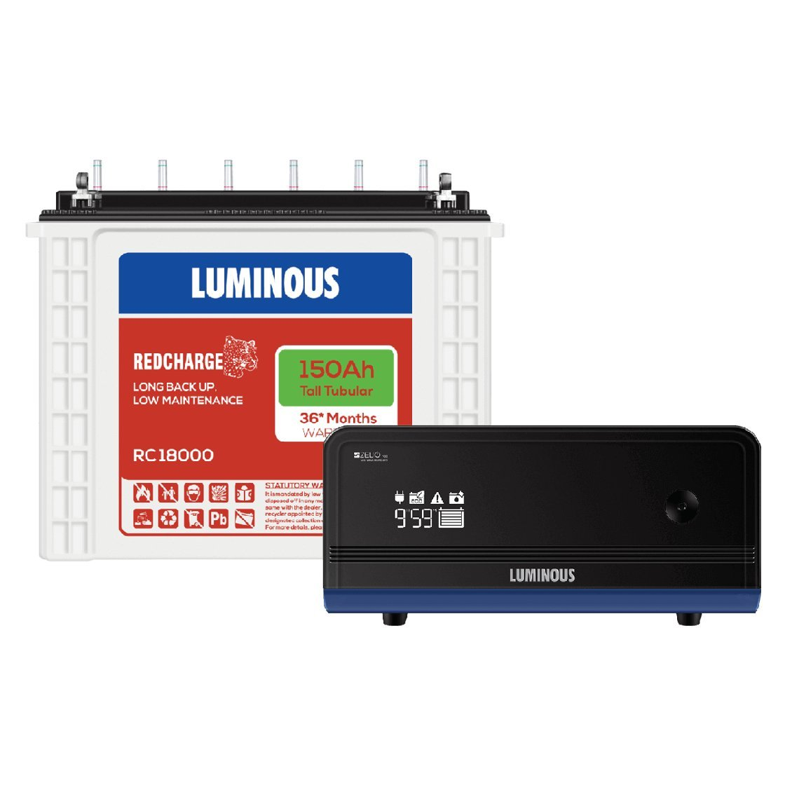 Luminous Zelio 1100 Inverter Battery
